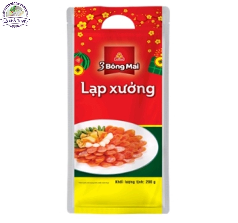 LẠP XƯỞNG 3 BÔNG MAI VISSAN 200G